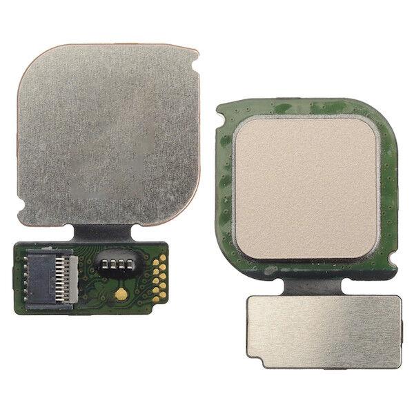 For Huawei P10 Lite Home Button Flex Cable Id Fingerprint Sensor Gold Was Lx1