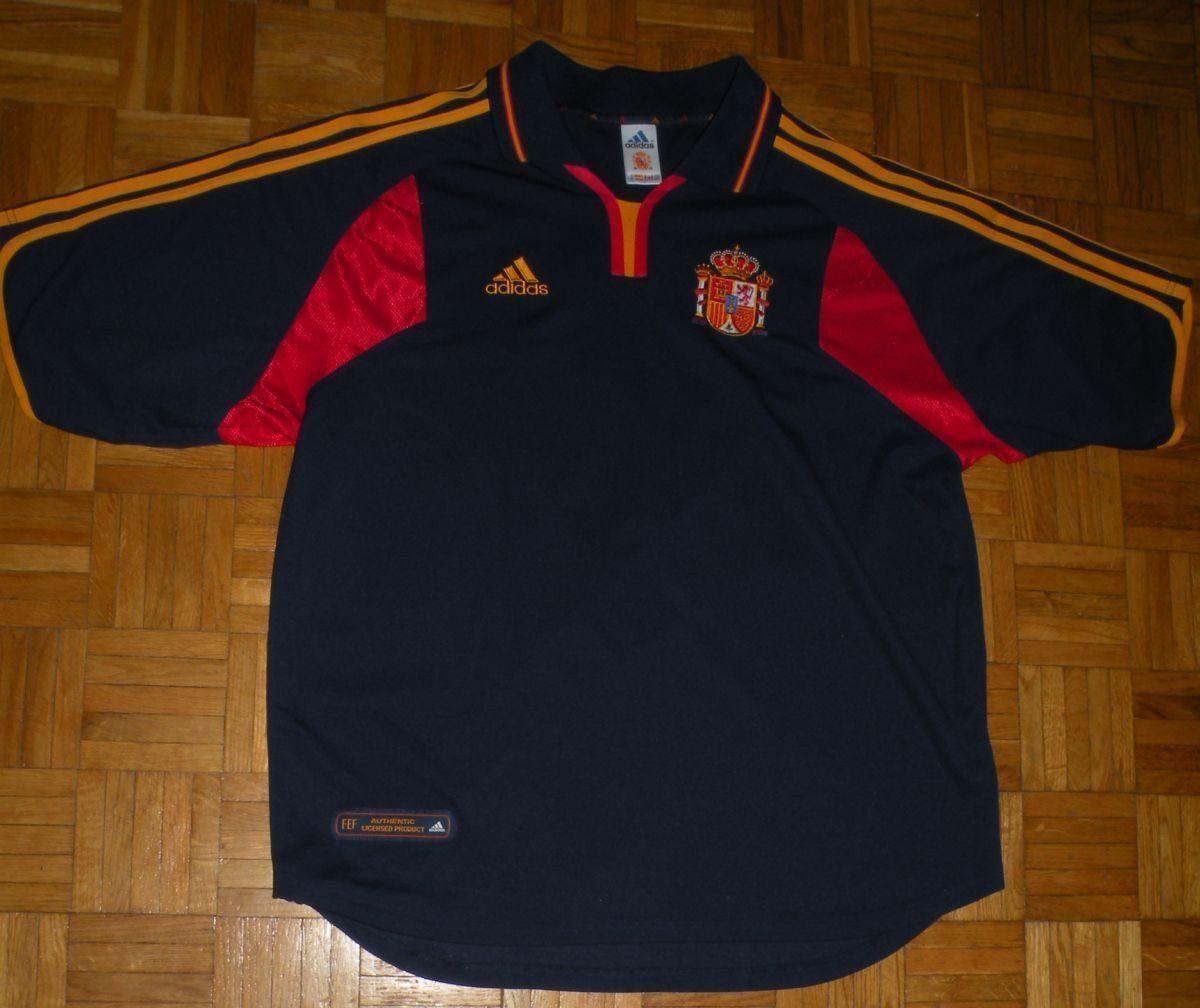 TRIKOT SPAIN CAMISETA ESPAÑA 2000 2002 XL