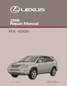 2006 lexus rx400h owners manual user guide manual that easy to read u2022 rh lenderdirectory co lexus rx400h maintenance manual lexus rx400h repair manual pdf