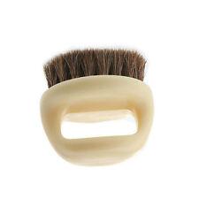 1x Shoes Brush Horseshoe Shape Horse Hair Brush Horse Mane Shoe Brush