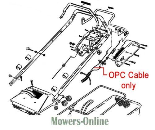 Genuine Hayter Ranger 53 OPC Cable SA2053230 396E 396F
