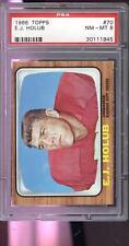 1966 Topps E.J. Holub #70 Football Card