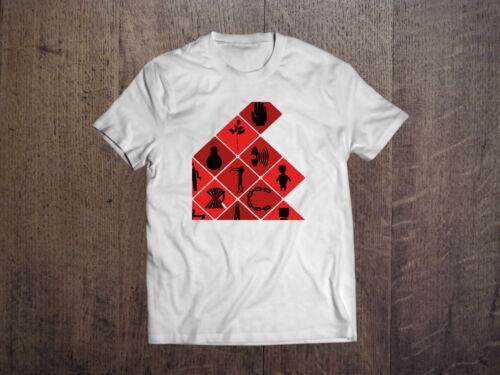 Depeche Mode Graphic White Men T-shirt Rock Band Fan Tee Shirt