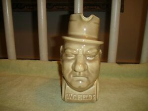 Vintage WC Fields Pitcher Turtle Bay Dist. Co. Kentucky Bourbon Whiskey Pitcher