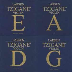 Larsen Tzigane Violin G String 4//4 Silver Medium