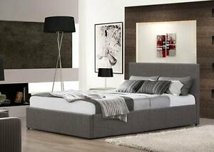 Storage-Bed-3FT-4FT-4FT6-5FT-Leather-Fabric-in-Multiple-Colours-Mattress-Options