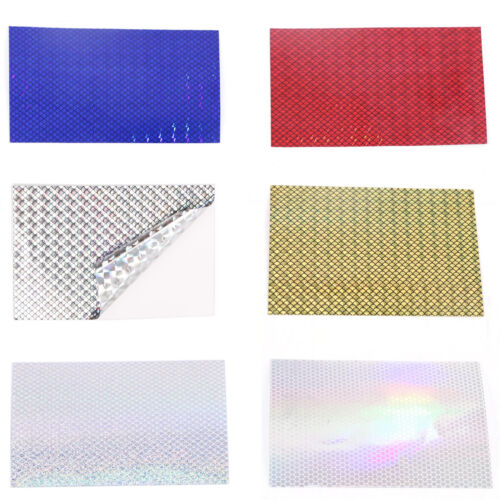 Fishing Lure Prism Tape 6 Colours Fluorescent Waterproof Laser Marking