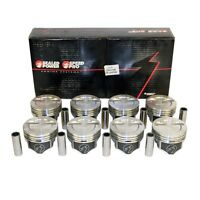 Chevy Small Block 383 -12cc Dished Pistons + Moly Rings Kit 030 Over Bore 4.030