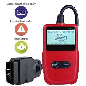 Clear Check Engine Light >> Details About Car Scanner Diagnostic Tool Engine Clear Fault Code Reader Check Engine Light