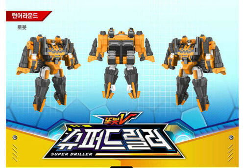 TOBOT V SUPER DRILLER Transformer Robot Drill Tank Vehicle Toy for Master V 2019