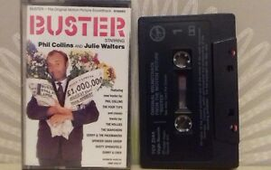 Buster-OST-Phil-Collins-Hollies-Searchers-Sonny-amp-Cher-Cassette-Tape-TESTED