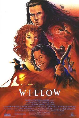 """All Sizes *High Quality* 80/'s /""""Willow /"""" Movie T-shirt"""