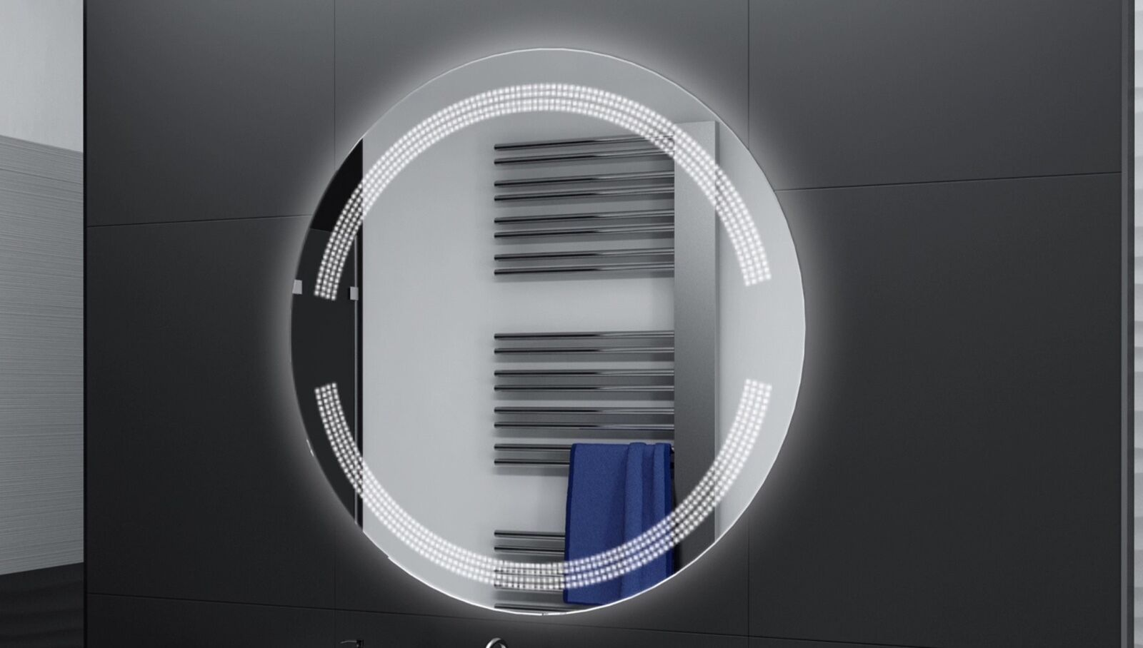 Hol Dir Das Neuste Badspiegel Rund M Led Beleuchtung