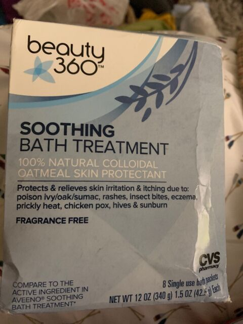 Cvs 100 Natural Colloidal Oatmeal Soothing Bath Treatment 8