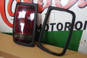 VW Amarok Rear Light Surrounds Tailgate Light Guards Styling Trim Black