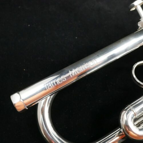 "Schagerl JM2-S /""James Morrison/"" Bb Trumpet in Silver Plate"