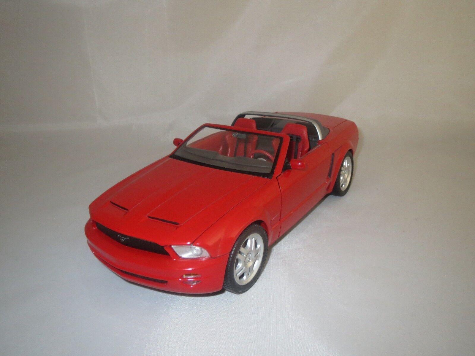 Envío y cambio gratis. Beanstalk Beanstalk Beanstalk ford munstang GT Cabriolet (rojo-fácil-met.) 1 18 sin embalaje   tienda de bajo costo