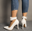 Womens-Pointed-Toe-Ankle-Strap-Party-Evening-Plus-Stiletto-High-Heel-Pump-Shoes thumbnail 3