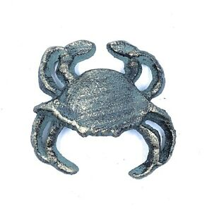 Home Storage Solutions Crab Verdi Green Single Wall Hook Cast Iron