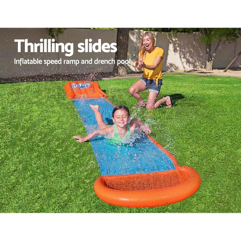 nuove immagini di 100% qualità acquista il più recente Giant Pool Water Slide Inflatable Pool Slide Kids Outdoor Fun ...