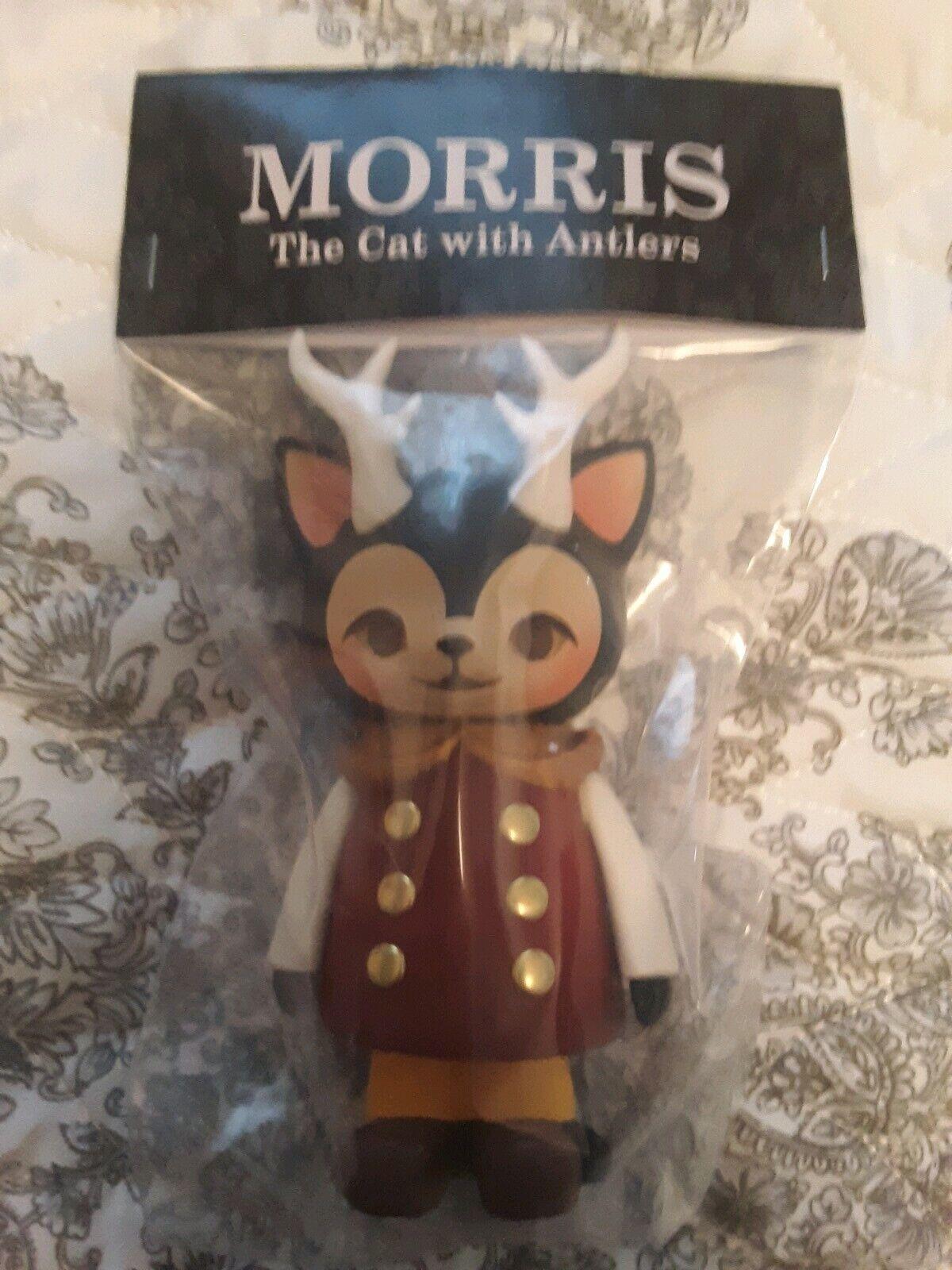 Morris The Cat with Antlers Anniversary 1000toys Kaori Hinata Hinatique