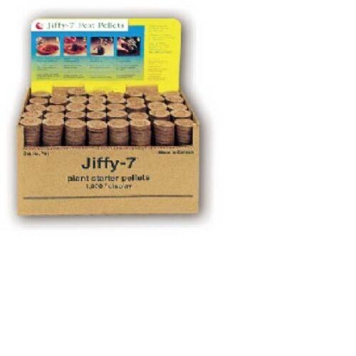 1000 JIFFY 7 PEAT PELLETS-GARDEN SEED PLANT STARTER GROW PLUGS 36MM 452011