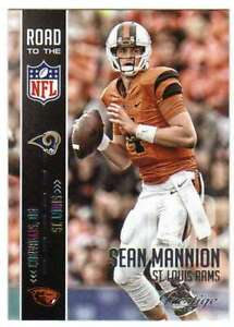 2015-Panini-Prestige-Road-to-the-NFL-RC-10-Sean-Mannion-Rams