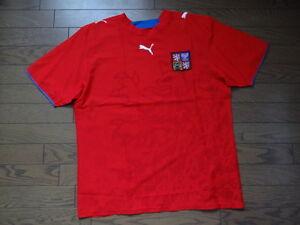 Czech-Republic-100-Original-Soccer-Jersey-L-2006-07-Home-NWOT-NEW-470