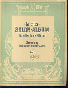 Leichtes-SALON-ALBUM-fuer-das-Pianoforte-Band-1