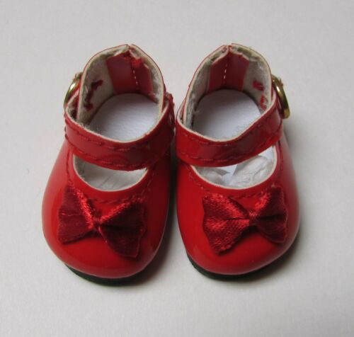 RED PATENT Doll Shoes 69mm Elegant Mary Janes