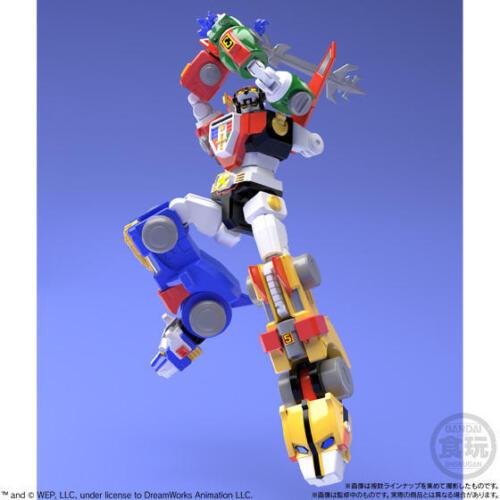 Bandai GoLion Voltron Beast King Super Minipla Model Kit Plastic Imperfect Box