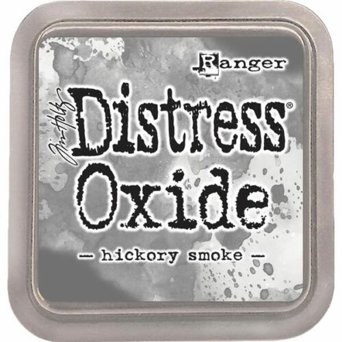Ranger Distress Oxide Ink Pad 3in x 3in by Tim HoltzHickory Smoke