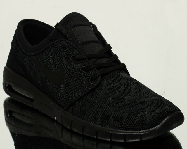 37d0bdc11862 Nike SB Stefan Janoski Max men lifestyle kicks NEW black anthracite  631303-099