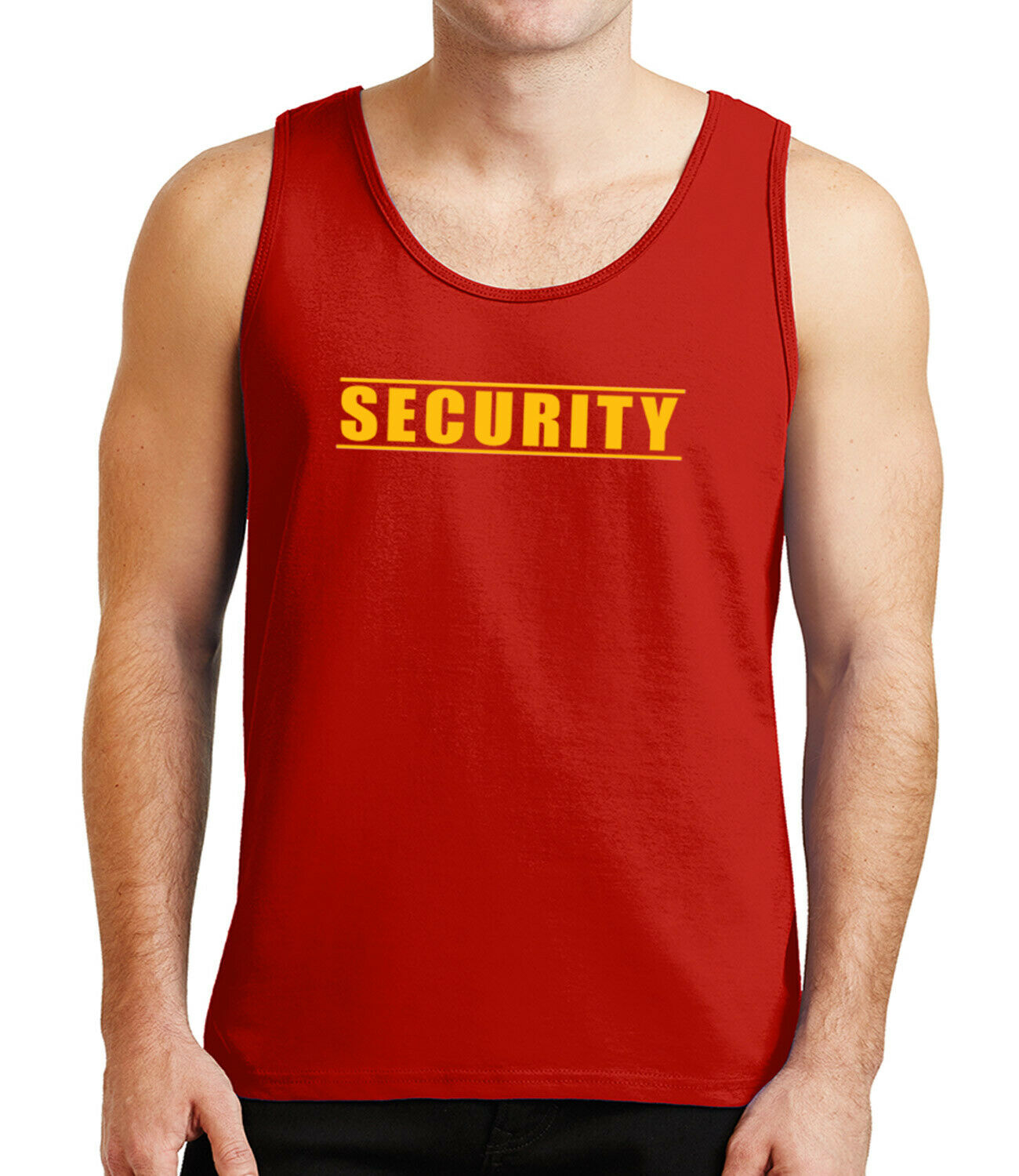 1628C Event Party Staff Mens Tank Top Personnel Team Staf Tanks for Men