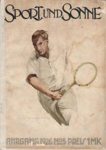 SPORT-UND-SONNE-Jahrgang-1926-No-5-Magazin-B2613