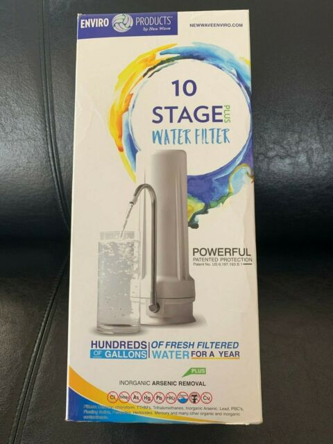 10 Stage Water Filter Replacement Cartridge 1 Filter New Wave Enviro Products s