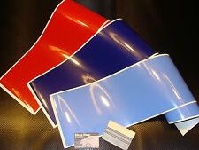 3 bandes / strip decal motorsport colors 190mm BMW M3 M5 M6 stickers pegatinas