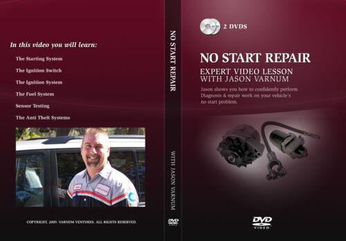 COURSE AUTO REPAIR NO START REPAIR VIDEO