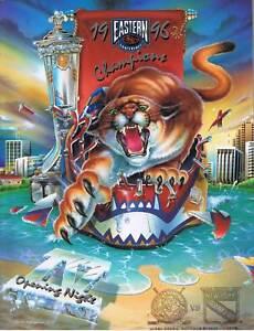 Florida-Panthers-Program-Vs-New-York-Rangers-10-6-96-Opening-Day-1996