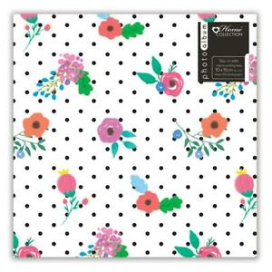 Floral-Photo-Album-6-039-039-x-4-039-039-Holds-200-Gift-Travel-Picture-Photo-Book