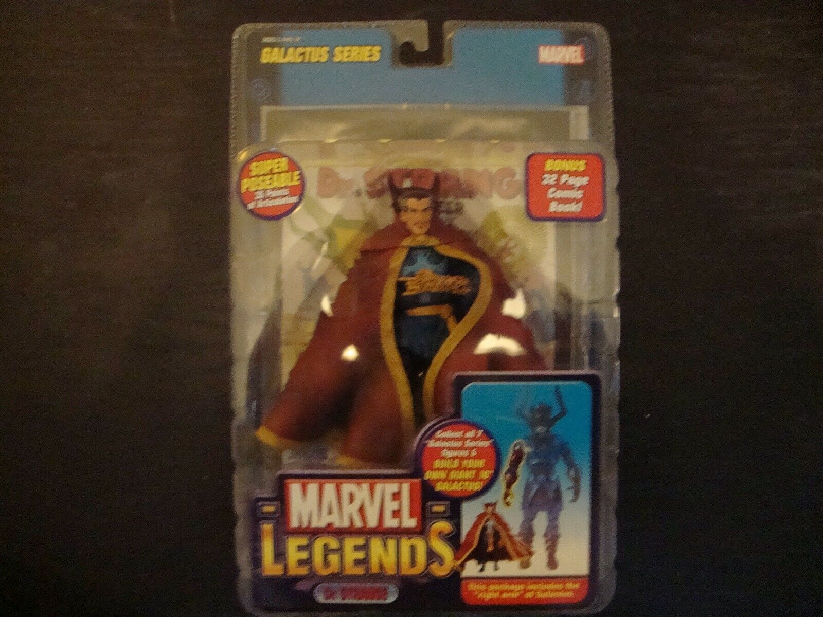 TOY TOY TOY BIZ MARVEL LEGENDS DR DOCTOR STRANGE SIGNED SAMPLE PredOTYPE AVENGERS 332edc