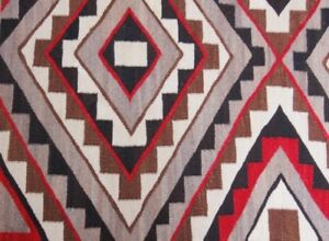 Image Is Loading Antique Navajo Rug Teec Nos Pos Red Mesa