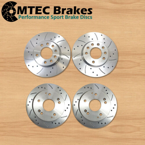 BMW E36 Compact 316i 318tds 318ti 95-01 Front Rear Brake Discs /& MTEC Pads SOLID
