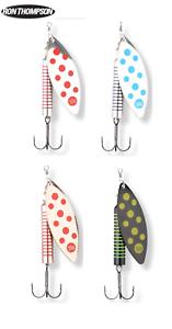 Ron-Thompson-Lachs-Spinner-Fischkoeder-30g-Verschiedene-Farben