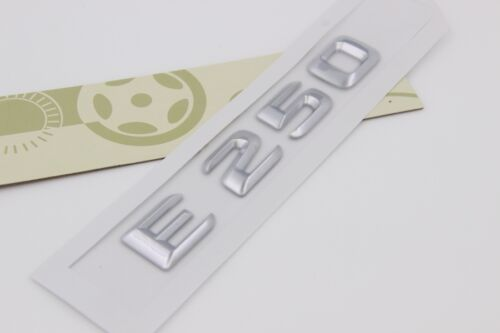 E679 E250 Emblem Badge auto aufkleber 3D Schriftzug Plakette car Sticker Neu