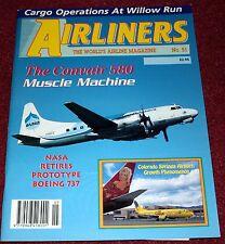Airliners 51 Boeing 737,Convair 580,Willow Run,Colorado Springs