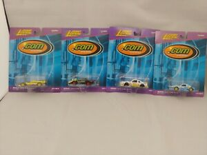 Johnny-Lightning-Com-Racers-Lot-of-4-Yahoo-Playing-Mantis-CBS-Bikini-com-NOC