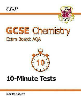 GCSE Chemistry AQA 10-Minute Tests (Including Answers) (A*-G Course) by CGP...