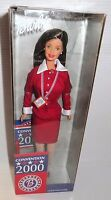 Barbie 2000 Mattel Brunette Democratic National Convention Delegates Doll