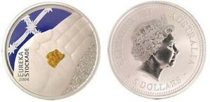 Australia-2004-5-Eureka-Stockade-Coloured-Coin-UNC